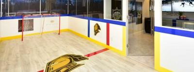 kids hockey rink